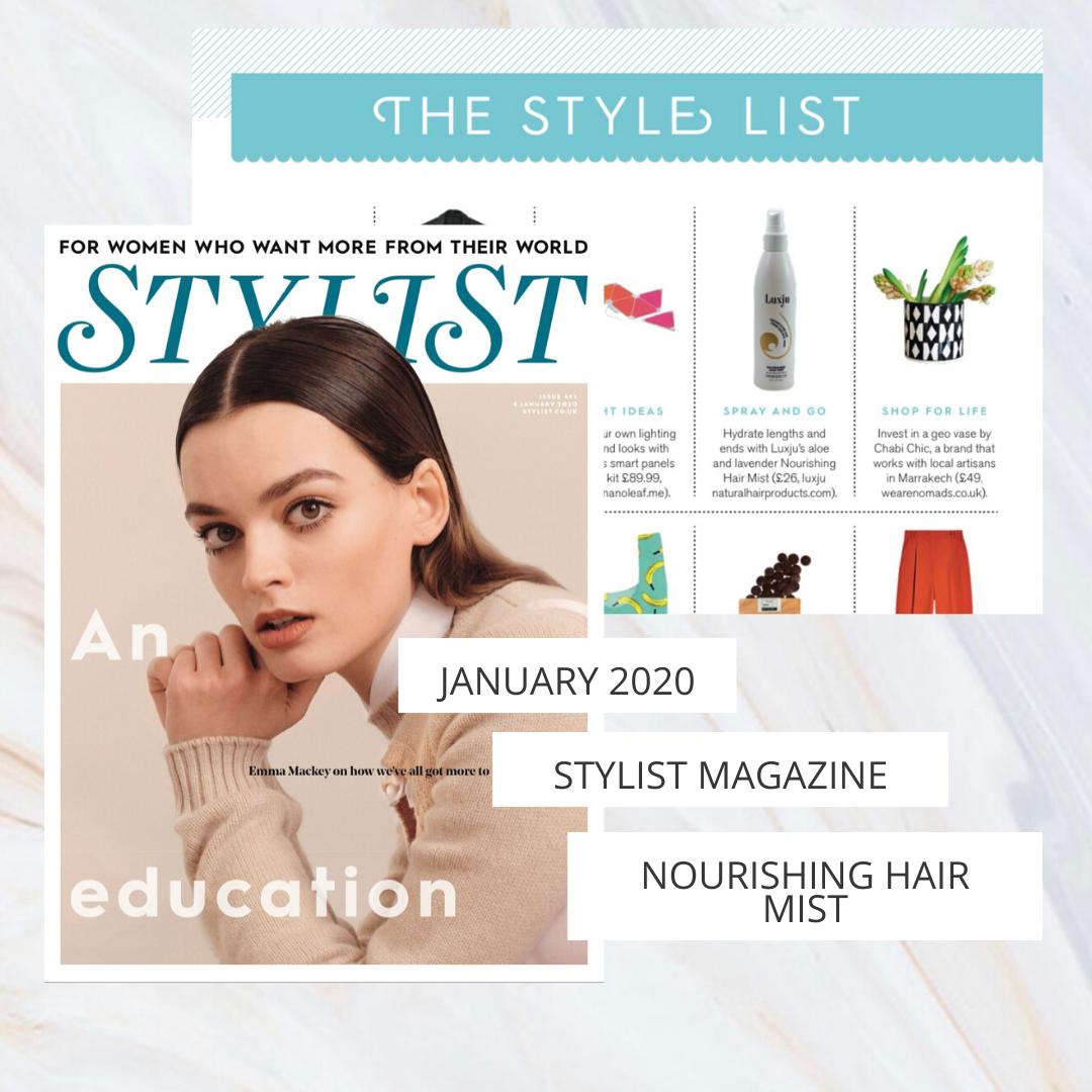 Luxju - Stylist Issue January 2020