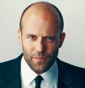 Actor Jason Statham - Male Pattern Baldness